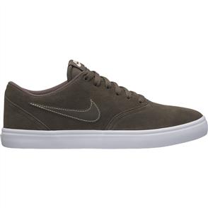 Nike Mens SB Check Solarsoft Skateboarding Shoe, Ridgerrock