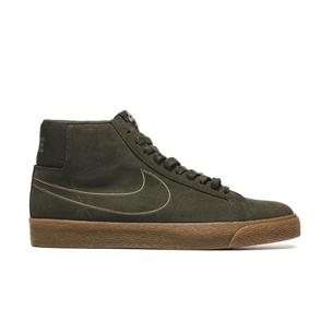 Nike SB Zoom Blazer Mid Shoe, Olive Black