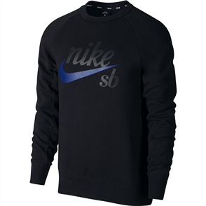 Nike Nike SB Icon Long Sleeve Mens Top, Black