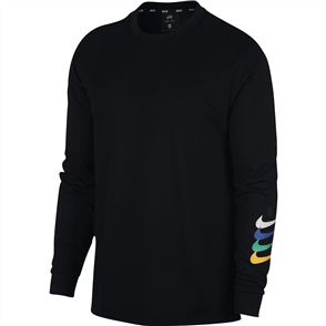 Nike Nike SB Dry Long Sleeve Mens Tee, Black