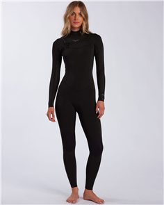 Billabong SALTY DAYS FULLSUIT 4/3MM STEAMER, BLACK