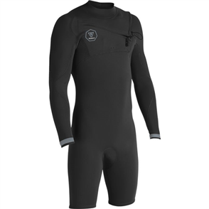 Vissla 7 Seas 2-2 L/S Spring, Dark Grey