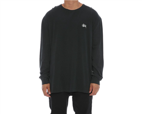 Stussy Stock Pigment Long Sleeve Tee NZ27