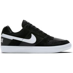Nike SB Delta Force Vulc Skateboarding Shoe, Black White Anthracite White