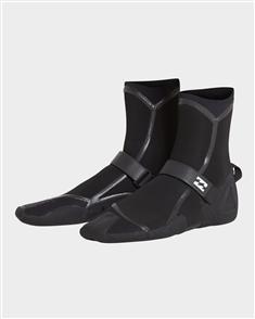 Billabong 3Mm Furnace Carbon Ultra Split Toe Boot, Black