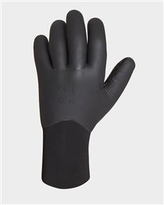Billabong 3Mm Furnace Carbon Fiber Quick Dry Glove, Black