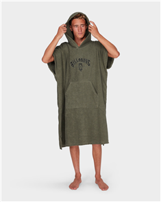 Billabong Mens Hoodie Towel, Military