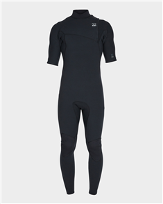 Billabong 2/2Mm Pro Series Short Sleeve Gbs Full Steamer, Black