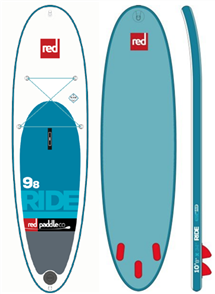 "Red Paddle Co 9'8"" Ride Inflatable Sup 2017 Model"