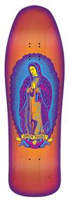 """Santa Cruz Jessee Guadalupe Neon Sunburst Reissue 31.8"""" x 9.9"""" Deck"""
