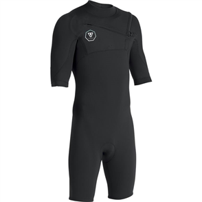 Vissla 7 Seas 2/2mm Spring, Black with Jade