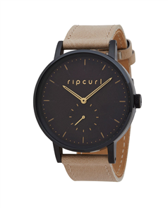 Rip Curl Womens Girls Circa Midnight Leather Style Watch, Midnight