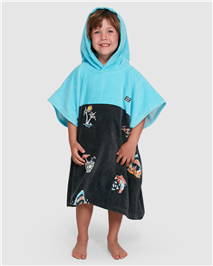 Billabong Groms Island Hood Towel (100% Cotton)
