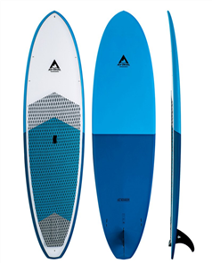 Adventure Paddle Allrounder Molded Epoxy SUP, Blue Blue