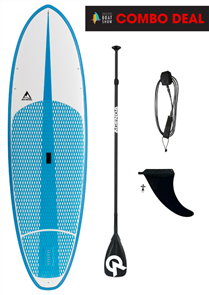 Adventure Paddle Sixty Forty Molded Epoxy SUP, Blue