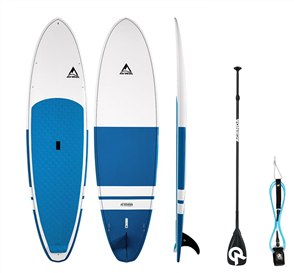 Adventure Paddle Allrounder MX Molded SUP Board & Paddle Combo, Blue