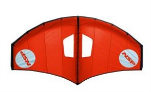 NSP Airwing (kite with bag only), Red