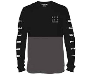 Hurley Tidal  Long Sleeve T-Shirt, 00AHBK