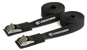 Creatures Of Leisure Tie Down Silicon 9' (2.75M), Black