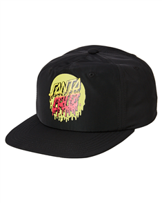 Santa Cruz RAD DOT SNAPBACK-YOUTH, BLACK
