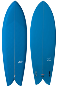 Surftech ButterFish Fusion HyperDrive Surfboard - Blue