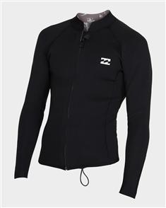Billabong 2/2mm Revolution Pump Zip Jacket, Black