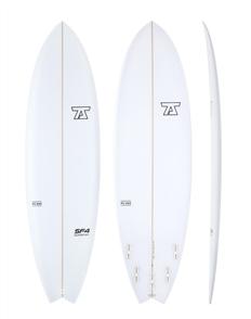 7S SuperFish 4 PU Surfboard, Clear