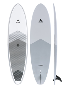Adventure Paddle All Rounder CX Carbon Epoxy Sup, Grey Blue