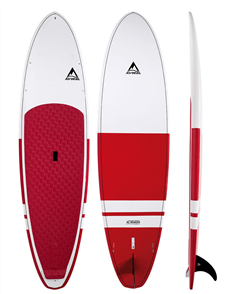 Adventure Paddle Allrounder MX Molded SUP Board, Magenta