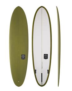 Creative Army Huevo PU Surfboard,  Khaki Tint
