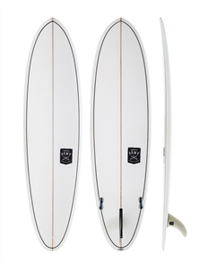 Creative Army Huevo SLX Clear Surfboard