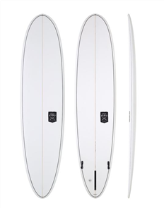 Creative Army Jumbo Jet SLX Surfboard, Clear