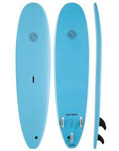Gnaraloo Beach Cruiser Soft Surfboard, Blue