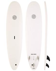 Gnaraloo Beach Cruiser Soft Surfboard, White