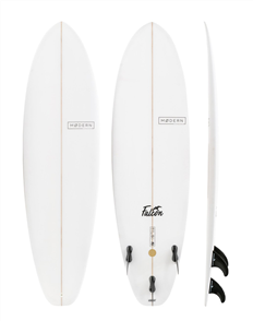 Modern Falcon PU Clear Surfboard