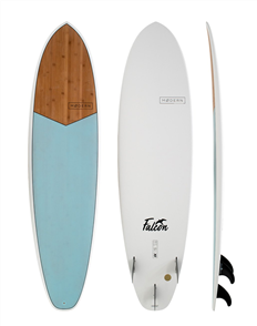 Modern Falcon XB Bamboo Light Blue Surfboard
