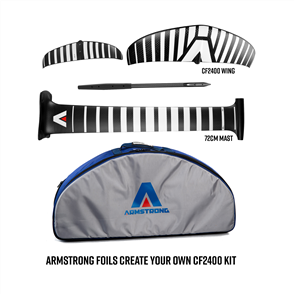 Armstrong Foils CF2400 Wing + 72cm Mast Foil Kit, Create Your Custom Combo