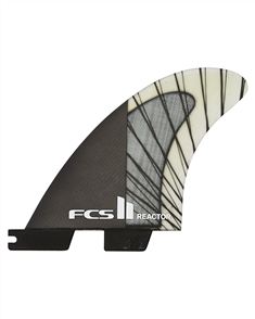 FCS II Reactor PCC Carbon Charcoal Medium Thruster Fins