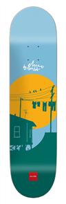 "Chocolate Crailtap Sun Series Brenes Deck, Size 8.0"""
