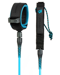 Creatures Of Leisure RELIANCE PRO 8 LEASH, CYAN BLACK