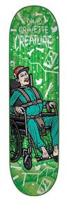 "Creature David Gravette Psych Ward Pro Series Deck, 8.25"""
