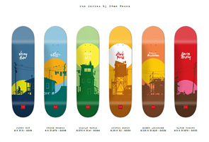 Chocolate Sun Series by Evan Hecox (6 Deck Series)