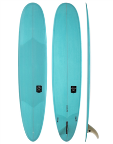 Creative Army Five Sugars PU Surf Longboard, Blue