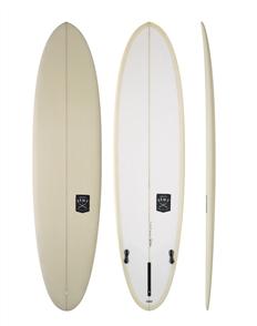 Creative Army Huevo PU Surfboard,  Stone Tint