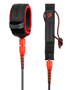 Creatures Of Leisure Pro 6 Leash, Black Red