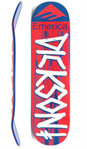 Deathwish Deck Jon Dickson Emerica Red/Blue 8.25