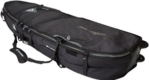 Creatures Of Leisure Shortboard Quad Wheely 10mm Foam Bag, Black Charcoal