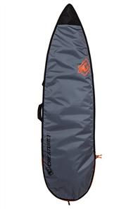 Creatures Of Leisure Shortboard 3mm Foam Lite Bag , Charcoal Orange