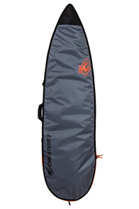 Creatures Of Leisure Shortboard 3mm Foam Lite Bag, Charcoal Orange