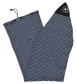Curve Surfboard Socks - Fish, Blue Skinny Stripe